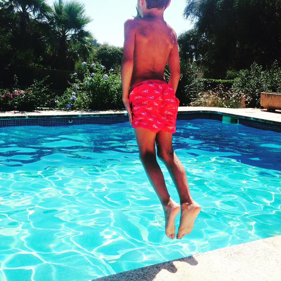 Im Sden sunshine sommerferien menorca binisafuller poolaction flyingson