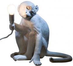 Affen-Stehlampe