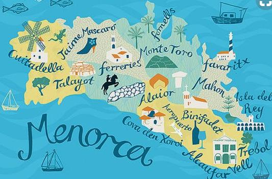 Insel Menorca Karte.Menorca Fur Mich Die Beste Insel Der Welt